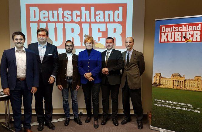 Redaktionskonferenz Deutschland-Kurier