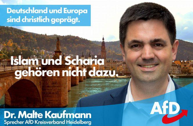 Dr. Malte Kaufmann Islam Scharia Christentum