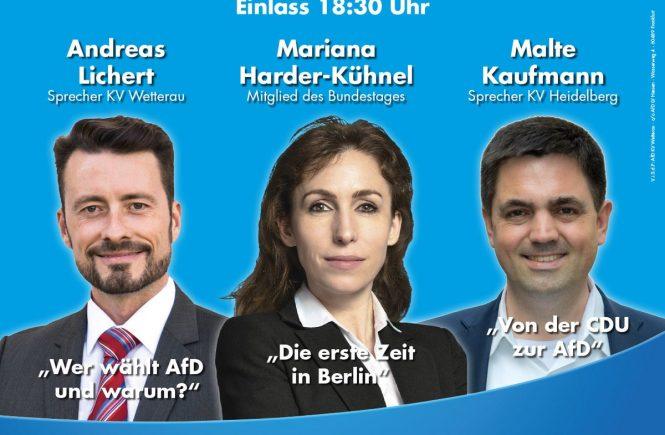11.4.2018 Friedberg Dr. Malte Kaufmann Mariana Harder-Kühnel und Andreas Lichert