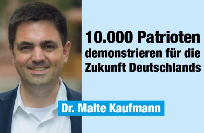 0000_Patrioten Dr. Malte Kaufmann im Deutschlandkurier