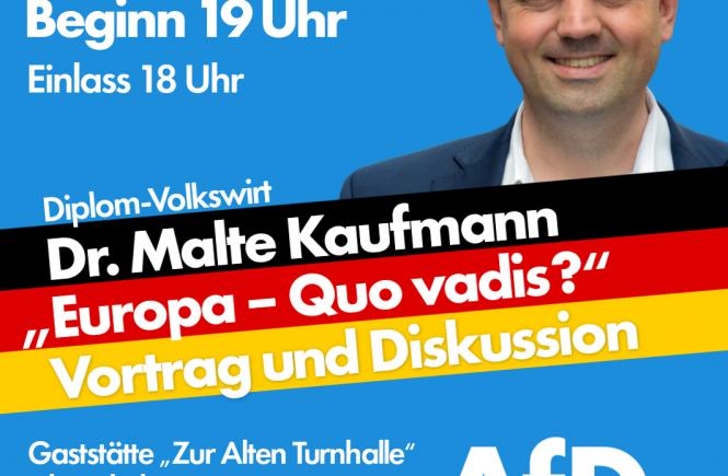 Dr. Malte Kaufmann 29.6. AfD Ludwigshafen