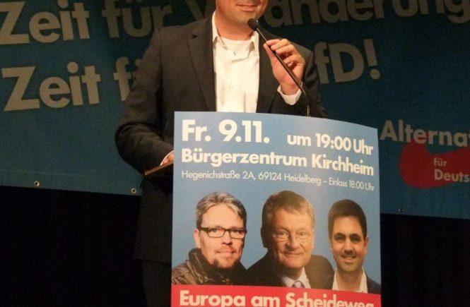 Dr. Malte Kaufmann AfD Rede am 9.11.2018 in Heidelberg_Europa am Scheideweg