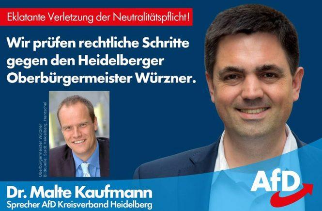 Dr. Malte Kaufmann OB Würzner