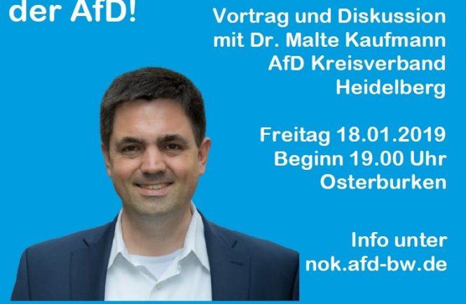 Dr. Malte Kaufmann in Osterburgen 18.1.2019