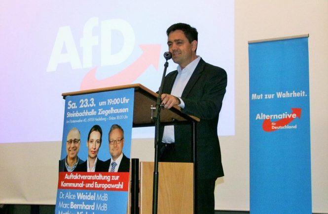 Dr. Malte Kaufmann in Heidelberg am 23.3.2019