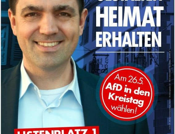 Dr. Malte Kaufmann AfD Kreistagskandidatur Rhein-Neckar-Kreis