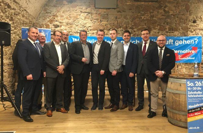 Neujahrsempfang AfD Rhein-Neckar in Schriesheim