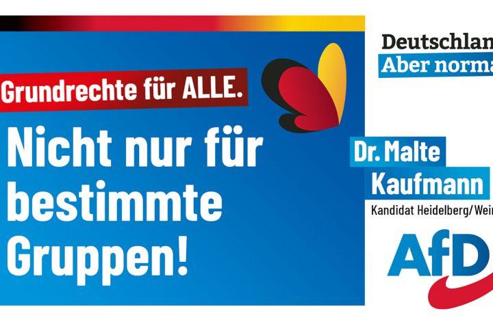 Grundrechte für alle- Dr. Malte Kaufmann AfD